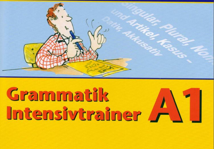 كتاب القواعد للمستوى Langenscheidt Grammatik Intensivtrainer A1