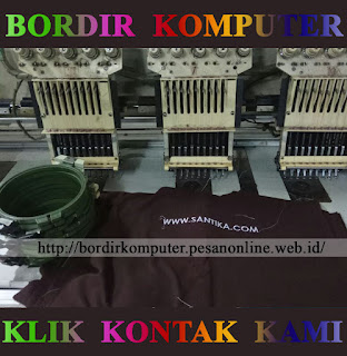 Bordir Komputer Murah Meriah Area Kota Surabaya