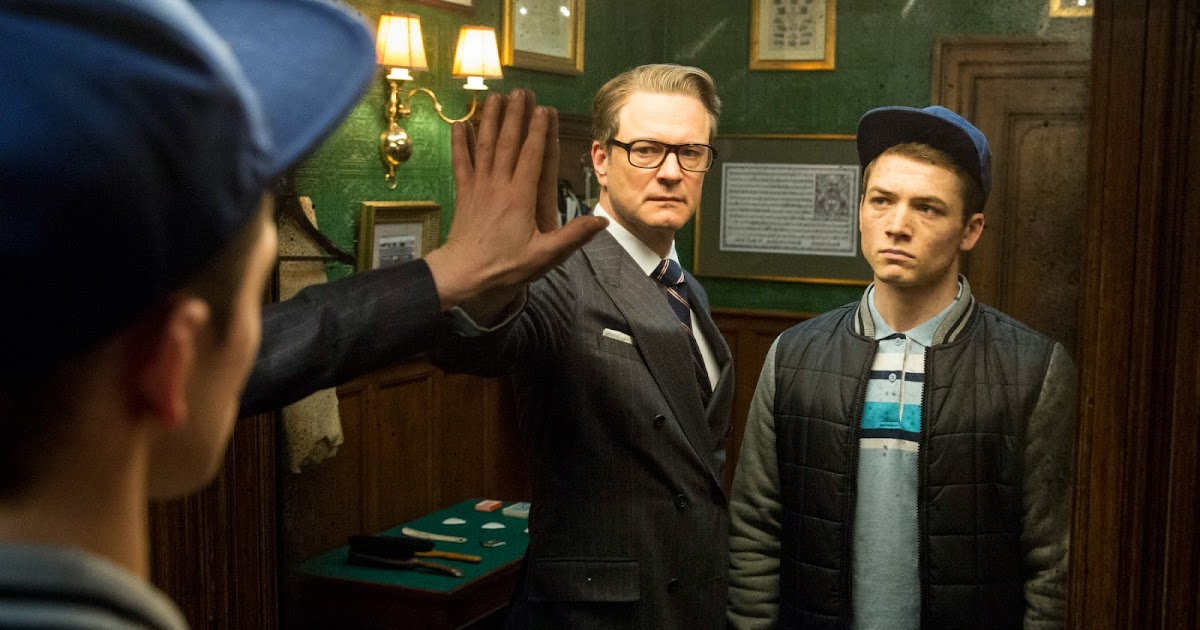 "Exclusive Colin Firth Taron Egerton And Sophie Cookson: Teen Delinquent Trains As Superspy In""KINGSMAN: THE SECRET"