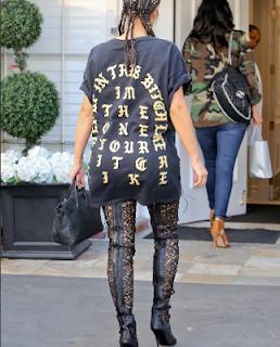 , Sexy Kim Kardashian rocks her black top looking most sexiest, Latest Nigeria News, Daily Devotionals & Celebrity Gossips - Chidispalace