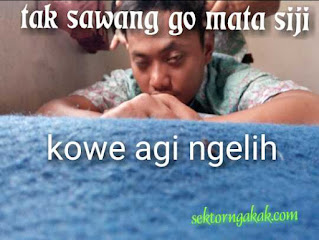 Gambar Lucu Gokil Terbaru Bahasa Jawa