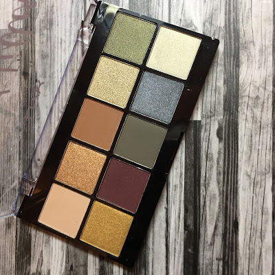 NYX Perfect Filter Shadow Palette (Olive You)