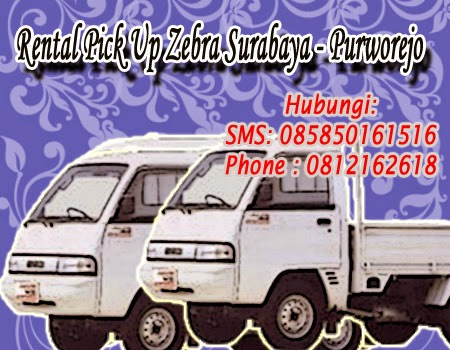 Rental Pick Up Zebra Surabaya - Purworejo
