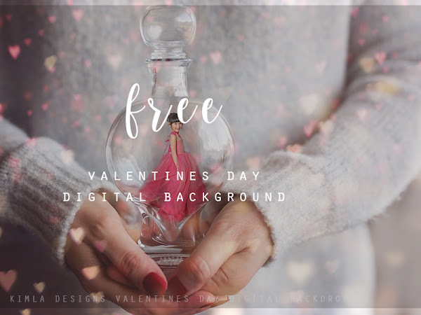 Free Valentine's Day Digital Background
