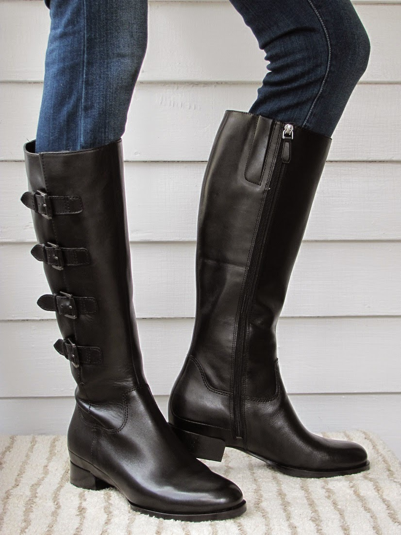 Howdy Slim Riding Boots For Thin Calves Ecco Sullivan Buckle