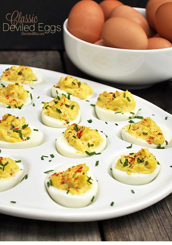 Classic Deviled Egg Recipe