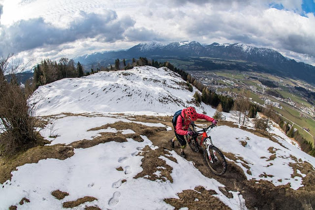Mountainbiken im Inntal