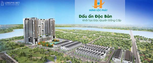 Phối cảnh dự án căn hộ Green Star quận 7 của Hưng Lộc Phát.