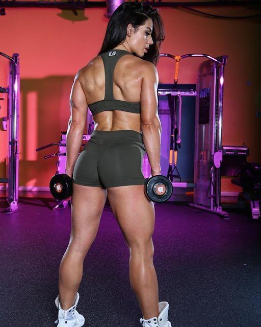 Fitness girl Celeste Beryl Braun
