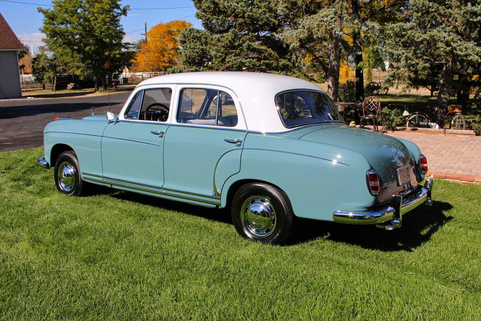 1958 Mercedes Benz W180 220s Concourse Restored Ponton