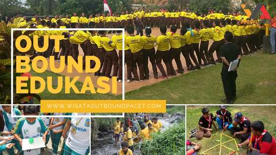 outbound edukasi wisata outbound pacet improve vision