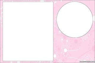 Arte en Rosa: Invitaciones para Imprimir Gratis.