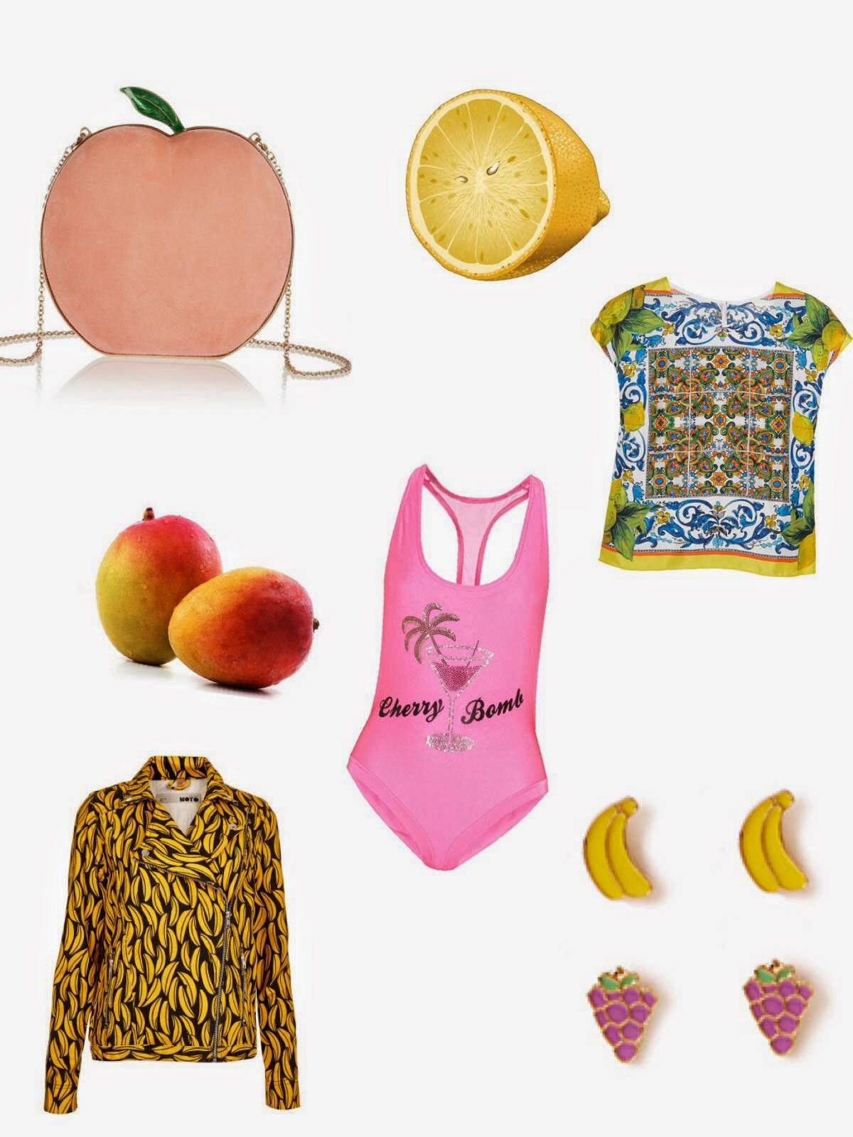 fruit graphic clothing