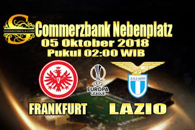 Agen Bola Online Terbesar - Prediksi Skor Liga Eropa Frankfurt Vs Lazio 05 Oktober 2018