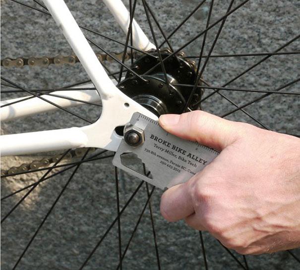 cartao visita criativo biciclaeta 2 - 13 Cartões de Visita extremamente criativos