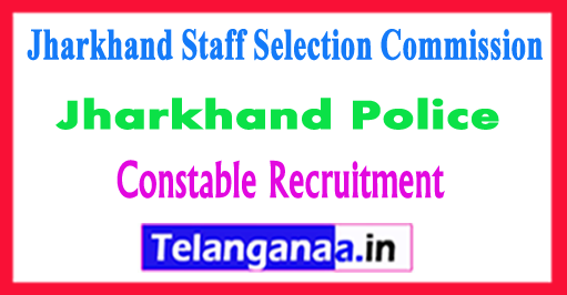 JSSC Jharkhand Staff Selection Commission Constable Recruitment 2017-18