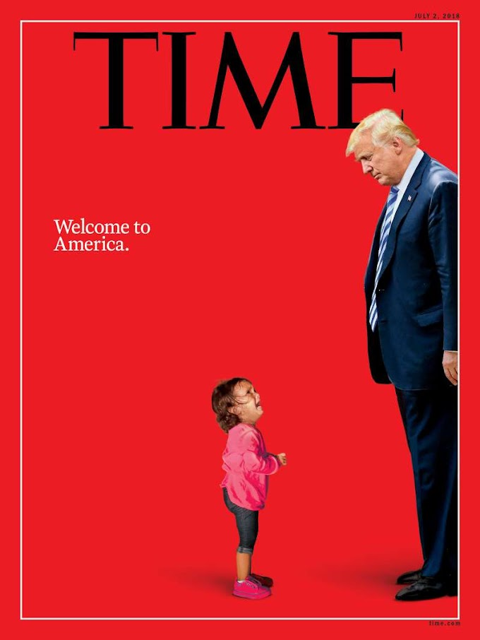 The Story Behind TIME's Trump 'Welcome to America' Cover