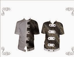 Foto Contoh Baju Batik Pria Jangkis Terbaru Model Dan Gambar