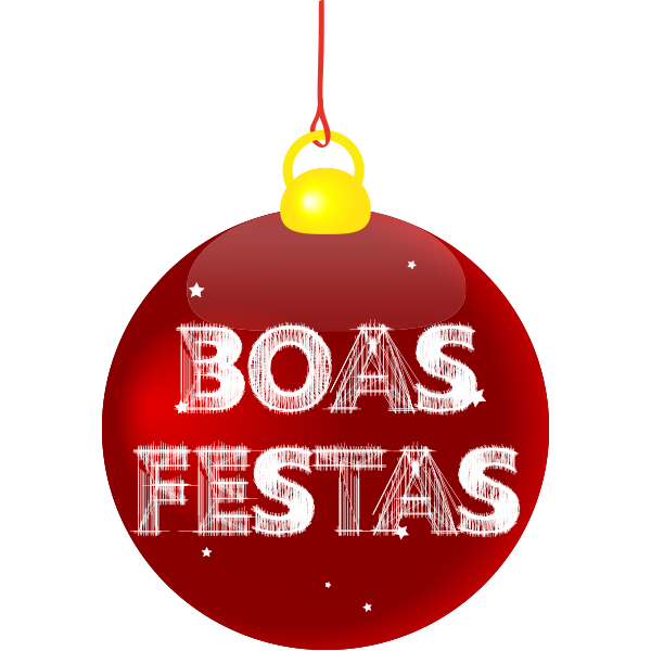 Boas Festas Emoticon