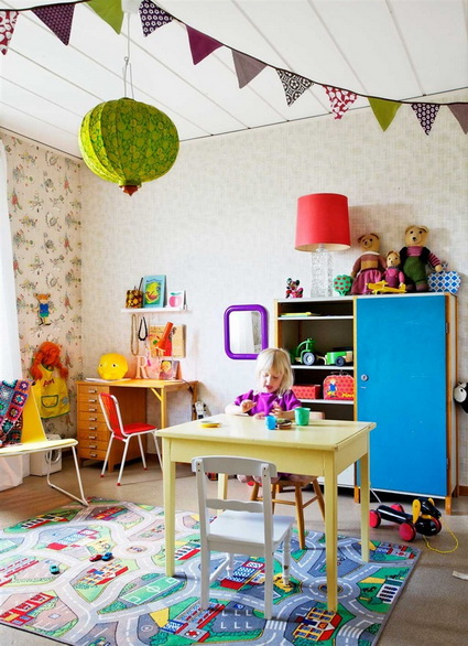 7 childrens rooms with lots of color 2