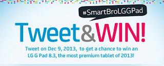 Smart LG G Pad 8.3 Promo