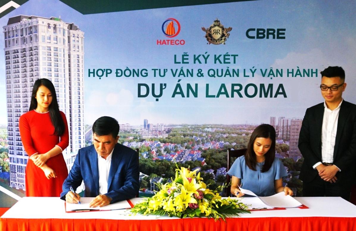 CBRE ký kết hợp đồng quản lý vận hành cùng Hateco Thăng Long