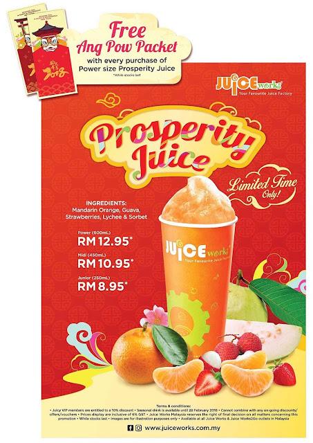 Minuman Prosperity Juice Kembali Lagi
