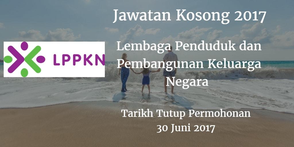 Jawatan Kosong LPPKN 30 Juni 2017
