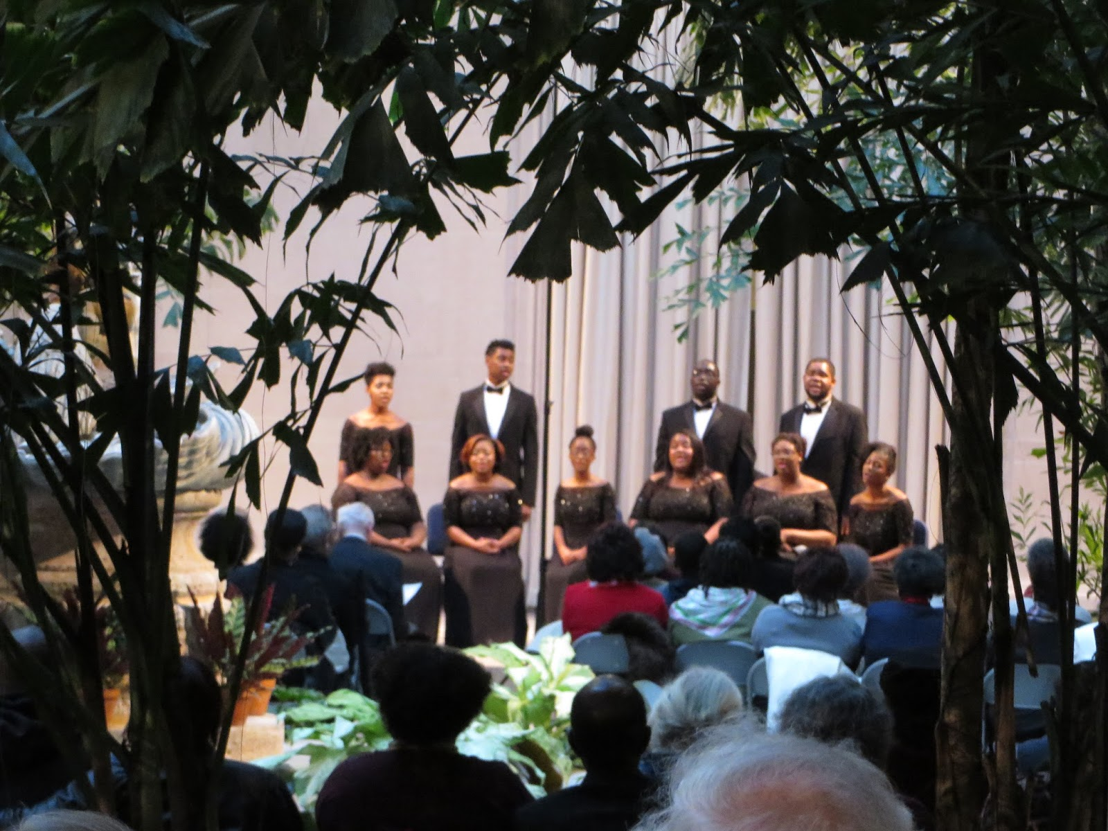 fisk jubilee singers rise shine. fisk jubilee singers at the national gallery of art rise shine