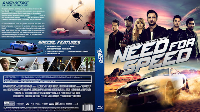 Need For Speed Bluray Cover