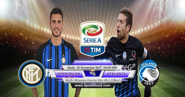 Prediksi Inter Milan vs Atalanta 20 November 2017