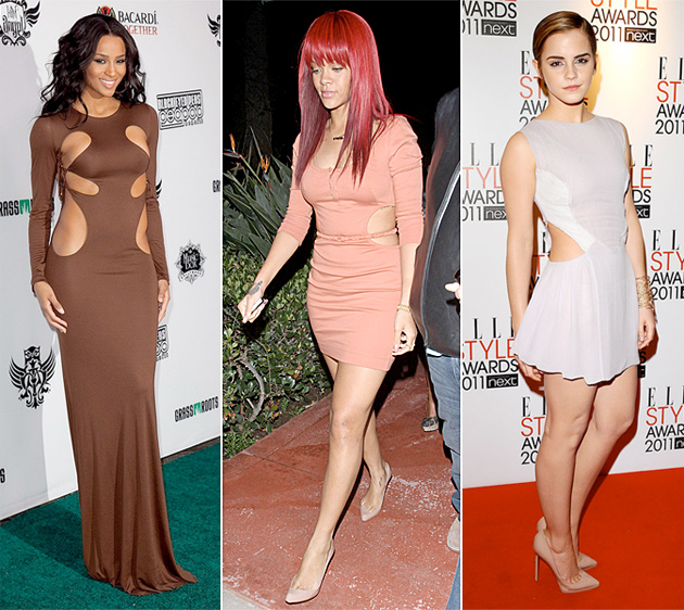 Cut Out Revealing Dresses