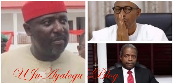 APC convention will hold, with or without Buhari or Osinbajo - Okorocha declares