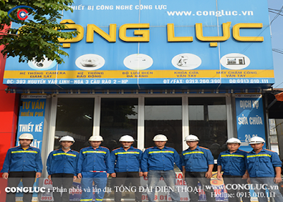 Công ty lắp tổng đài điện thoại nhà hàng uy tín tại Hải Phòng