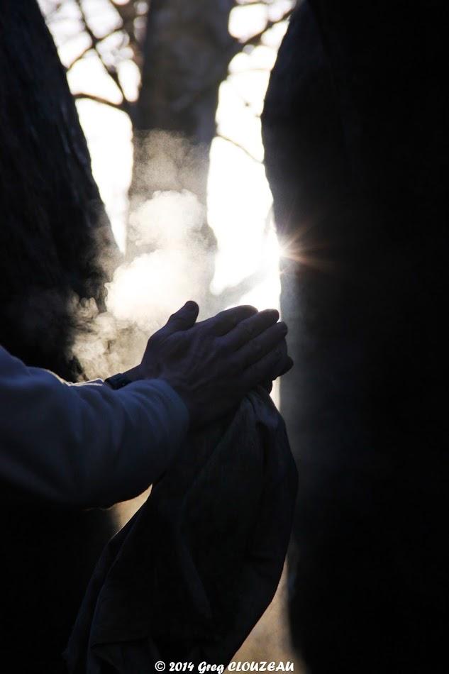 Le Pof ou la prière du bleausard, (C) 2014 Greg Clouzeau