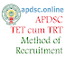 AP DSC TET cum TRT Method of Recruitment