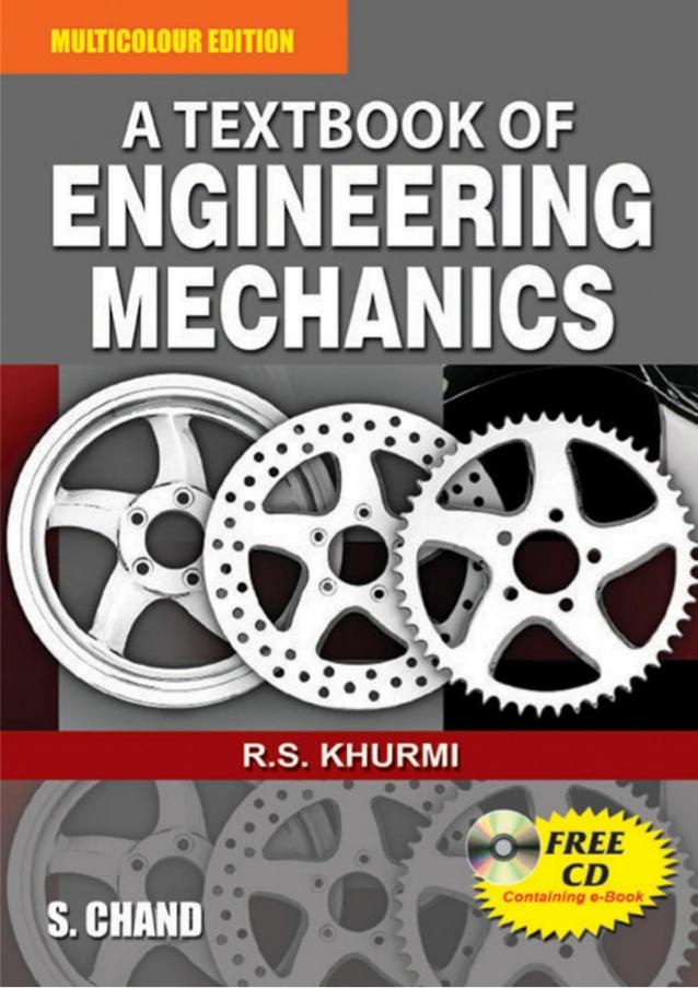 [PDF] Engineering Mechanics by R S Khurmi Book