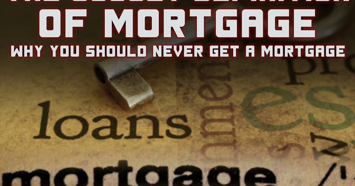 Hidden Meaning of Mortgage, Corporation, Money, Promissory Notes, Debt, and more | The Occult ...