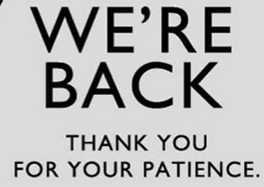 we are back thanks for your patience