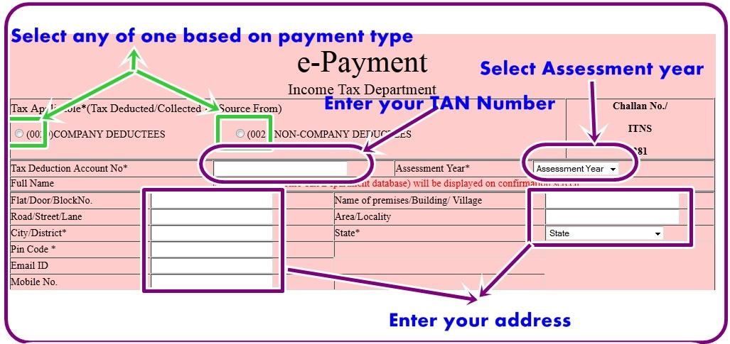 Blog || munim in: TDS Online Challan Deposit- Do's and Don'ts