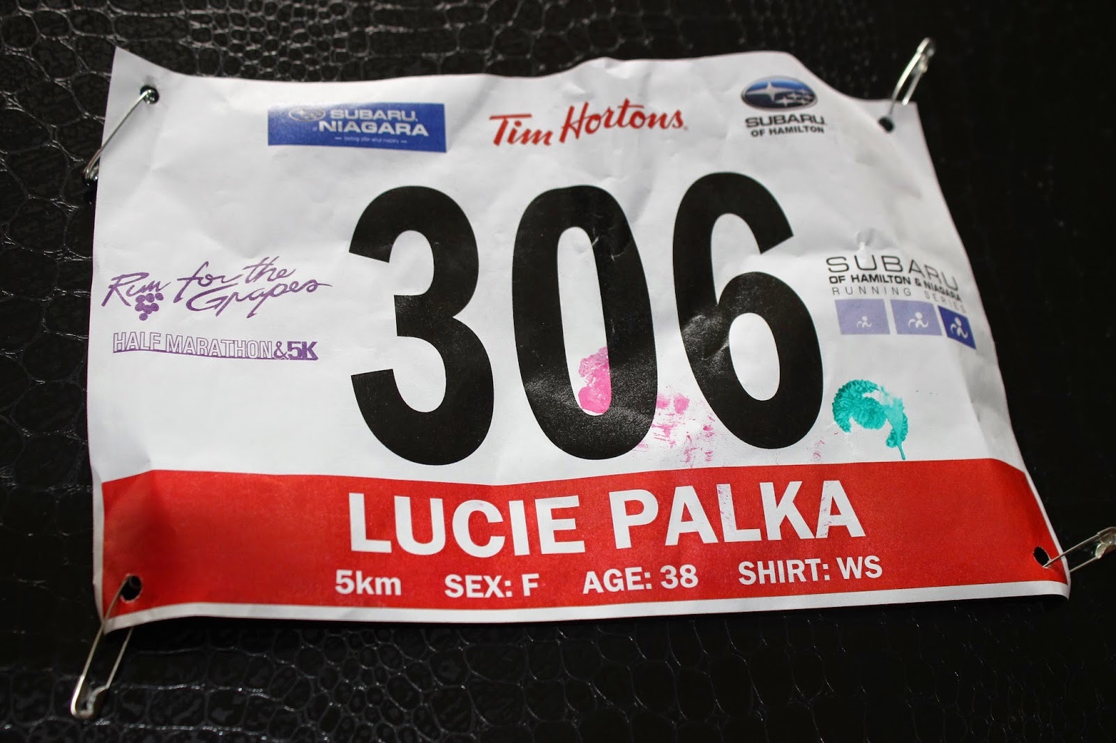 Photo of Race Bib