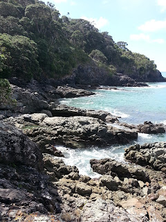 Rocks along Matai Bay NZ