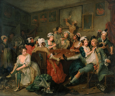 William Hogarth -the Rake's Progress 1733-1735
