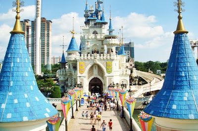 Lotte World, Theme Park Lotte World, Taman Tema Lotte World, Kompleks Rekreasi Lotte World, Lotte World Seoul South Korea, Lotte World 2019, Traveloka, Traveloka Malaysia, Magic Island,