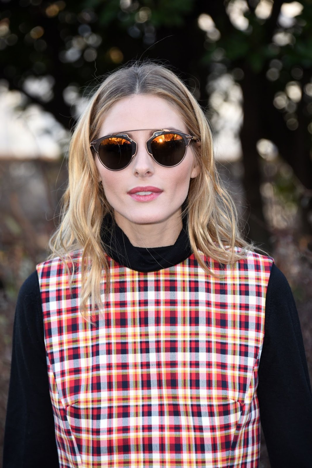 Olivia Palermo at Christian Dior Fashion Show Paris 2016