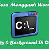 4 Langkah Gampang Mengganti Warna Teks Dan Warna Background Pada Cmd
