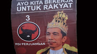 Gudang Penyimpanan Gambar Raja Jokowi Disinyalir Ada di Bumiayu