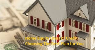Home Equity Credit Lines