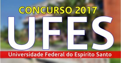 Apostila concurso UFES 2017