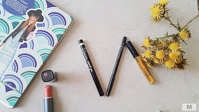 Flormar alışverişim- Miracle Pen Slim Touch-Mascaraliner-Waterproof Eyeliner